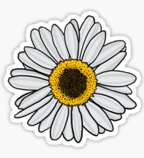 Daisy sticker Sticker