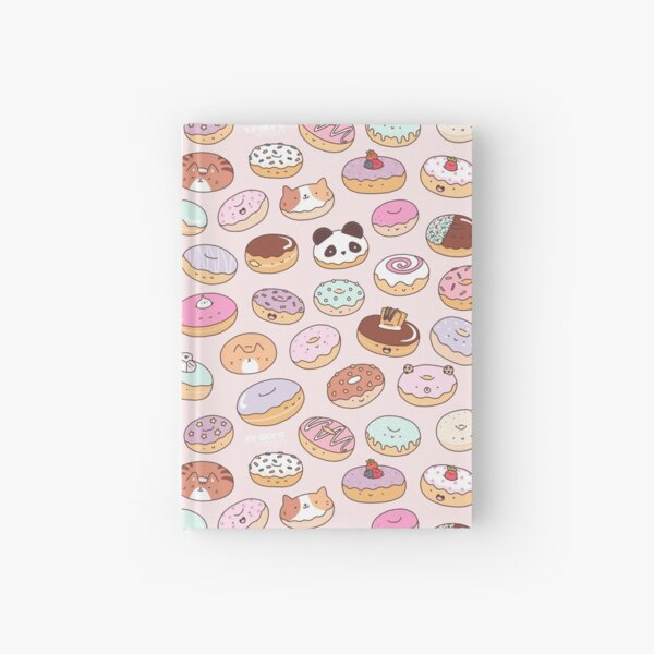 Mmm.. Donuts! Hardcover Journal
