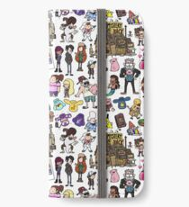 Cute Gravity Falls Doodle iPhone Wallet/Case/Skin