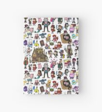 Cute Gravity Falls Doodle Hardcover Journal