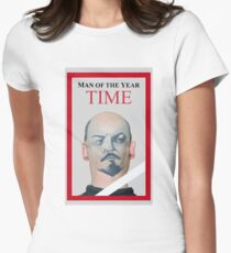 Man of the year Womens Fitted T-Shirt