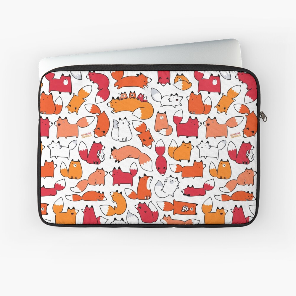 Foxy Foxes Laptop Sleeve