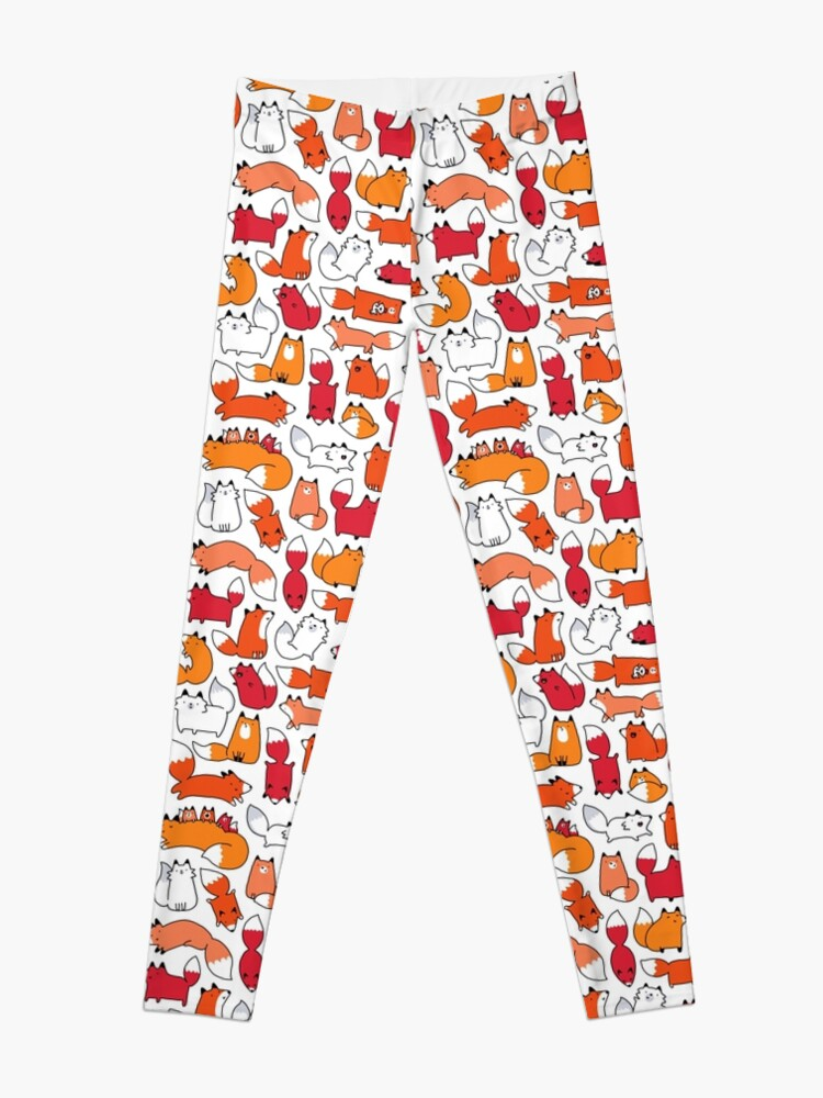 Alternate view of Foxy Foxes Leggings
