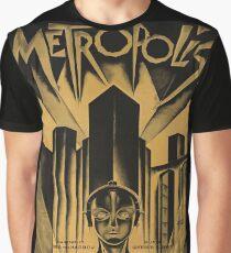 Metropolis, Fritz Lang, 1926 - vintage movie poster, b&w Graphic T-Shirt