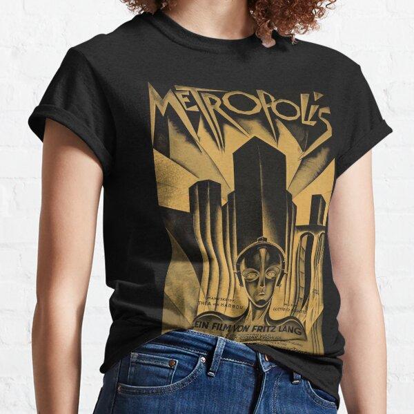 Metropolis, Fritz Lang, 1926 - vintage movie poster, b&w Classic T-Shirt