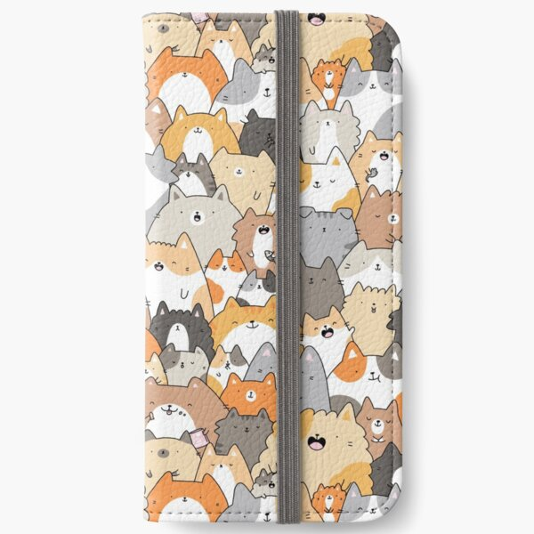 Cats, Kitties and a Spy iPhone Wallet