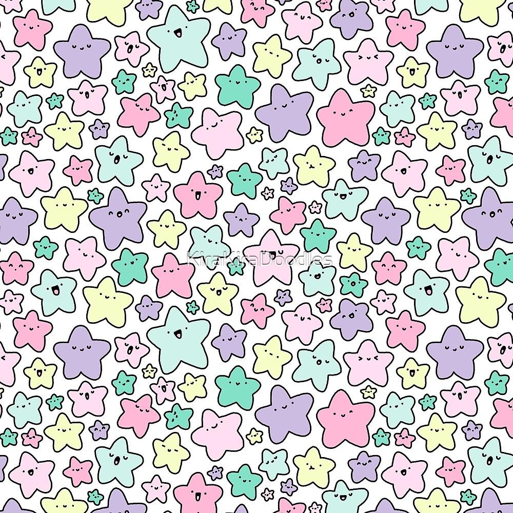 Quot Pastel Kirakira Stars Quot By Kirakiradoodles Redbubble