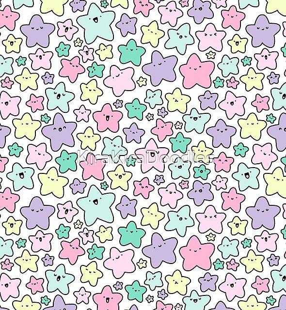 Pastel KiraKira Stars by KiraKiraDoodles