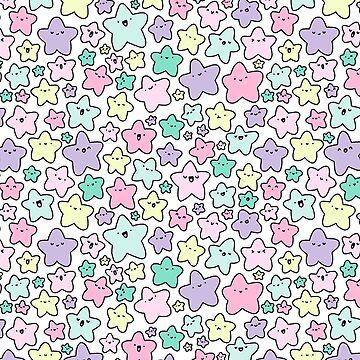 Pastel KiraKira Stars de KiraKiraDoodles
