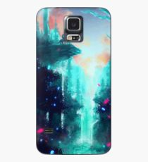 Mononoke Wald Hülle & Klebefolie für Samsung Galaxy