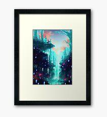 Mononoke Wald Gerahmtes Wandbild