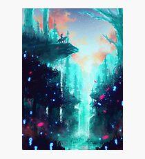 Mononoke Wald Fotodruck