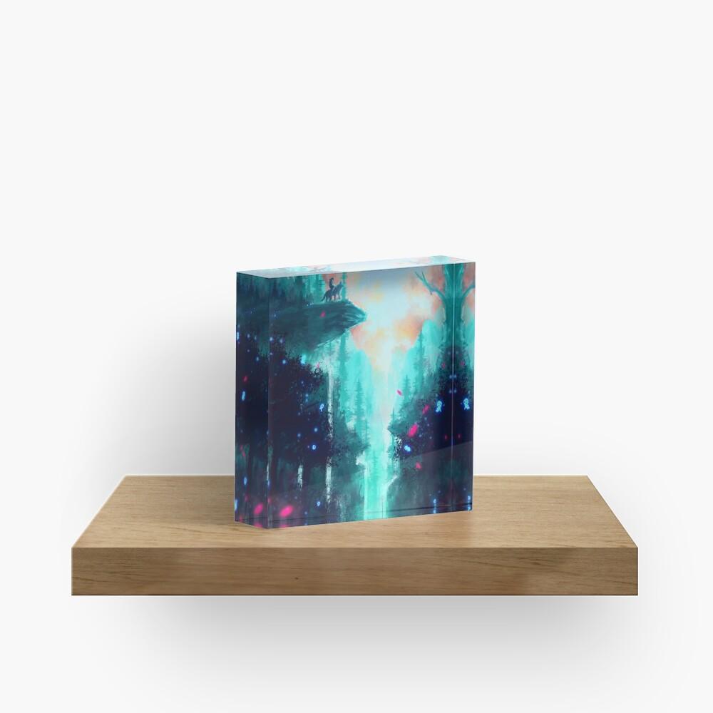 Mononoke Forest Acrylic Block