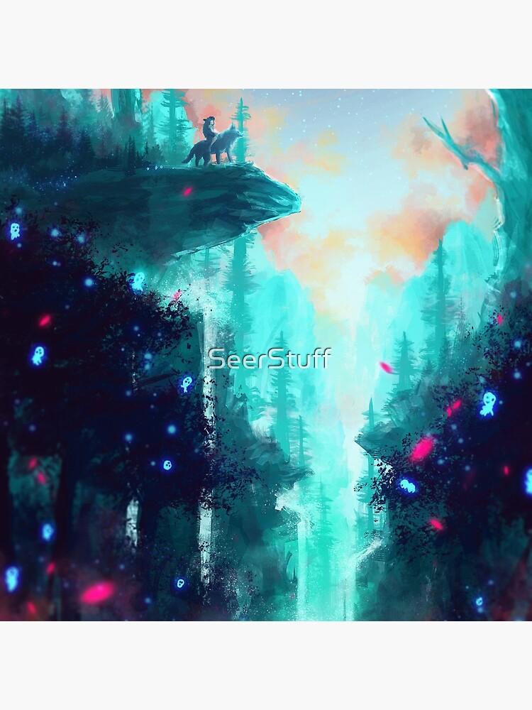 Mononoke Forest by SeerStuff