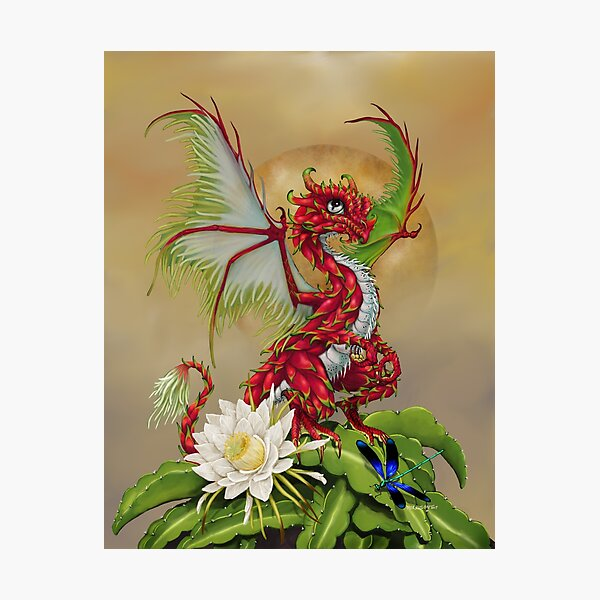 Dragon Fruit Dragon Photographic Print