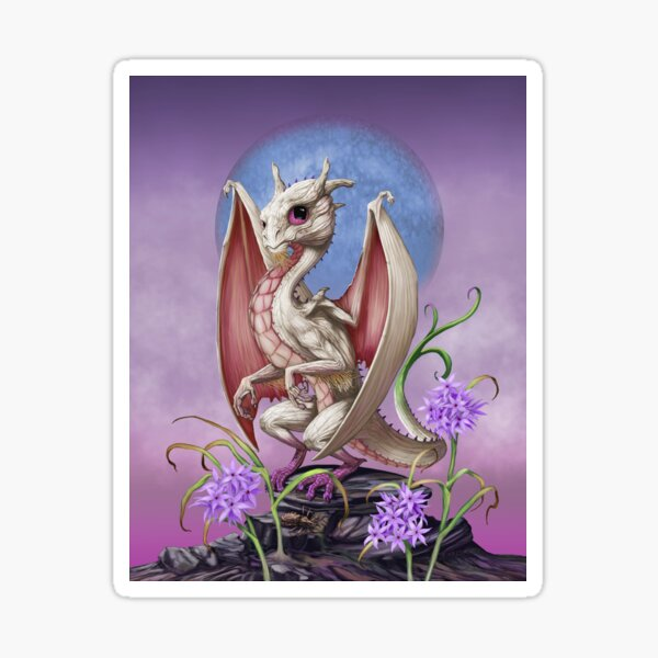 Garlic Dragon Sticker