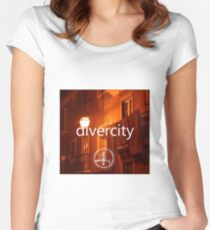 Divercity Sounds  Women's Fitted Scoop T-Shirt