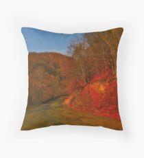 Autumn - Jimi Hendrix - Voodoo Child . #autumn Throw Pillow