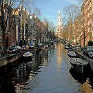 Amsterdam:Canal by Alex Cherney