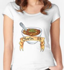 Chapter 55 Marker Illustration Women's Fitted Scoop T-Shirt