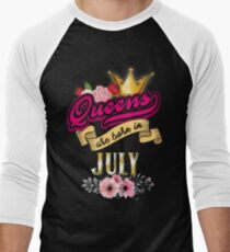 Queen's Are Born In July, Queen's Birthday Month T-Shirt