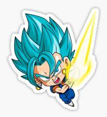 Gogeta Blue God Chibi Sticker