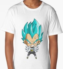 Vegeta God Blue Chibi Long T-Shirt