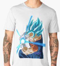 Goku Blue God Men's Premium T-Shirt