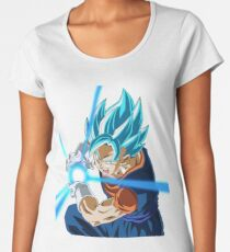Goku Blue God Women's Premium T-Shirt