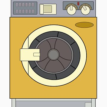 Retro Washing Machine by mootuntees