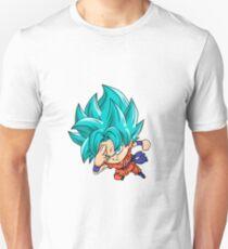 Goku Blue God Chibi Unisex T-Shirt