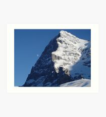 Eye of the Eiger Art Print