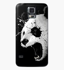 Splatter Panda Case/Skin for Samsung Galaxy