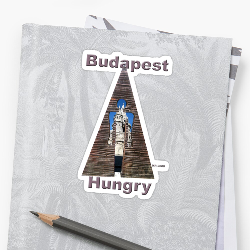 Budapest's Castle in Triangle by Keith Richardson