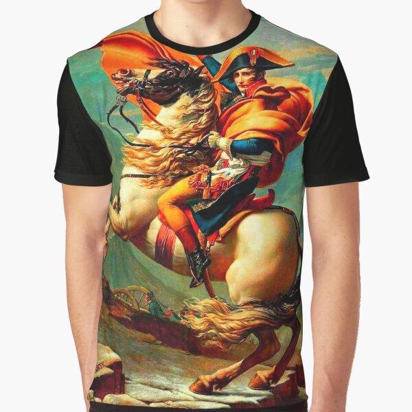 Napoléon au Col du Saint-Bernard T-shirt graphique