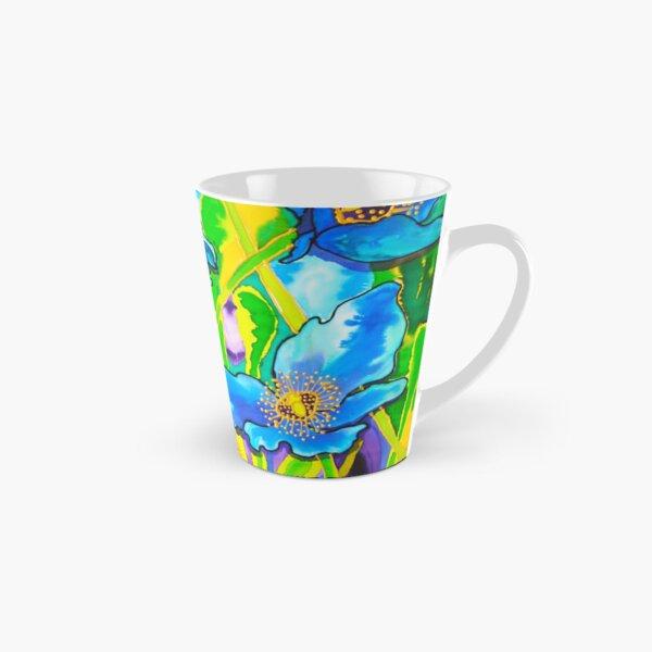 Blue Poppies 2 Belize Tall Mug