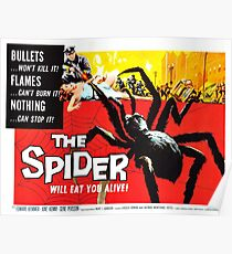 The Spider - vintage horror movie poster Poster