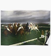 Polo at Lakewood - George Bellows Poster