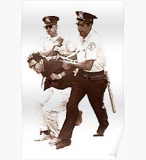 Bernie Sanders Arrested Poster