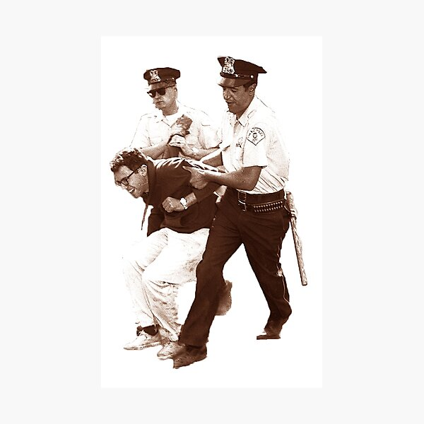 Bernie Sanders Arrested Photographic Print