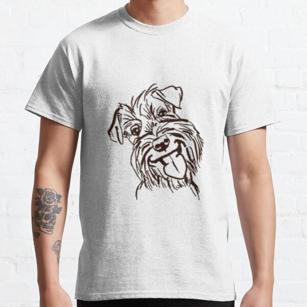 The Schnauzer Love of My Life Classic T-Shirt