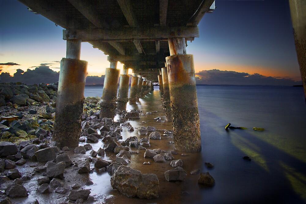 Pier Dawn by Ben Ryan
