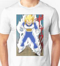 Dragon Ball Z - Vegeta Super Saiyan Manga T-Shirt