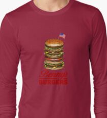 The Original Benny's Burgers - ELEVEN - stranger things Long Sleeve T-Shirt