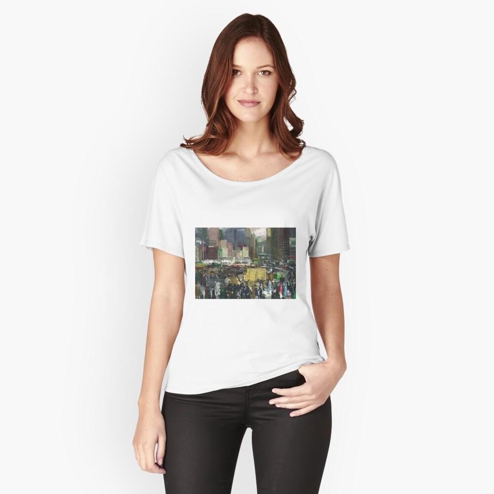 Camiseta ancha para mujerNew York - George Bellows Delante