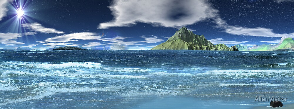 Sun & Sea by AlienVisitor