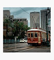 New Orleans Streetcar Photographic Print