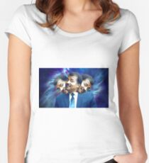 Neil DeGrasse Tyson Image Women's Fitted Scoop T-Shirt