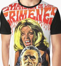 The House That Dripped Blood, vintage horror movie poster, spanish Graphic T-Shirt