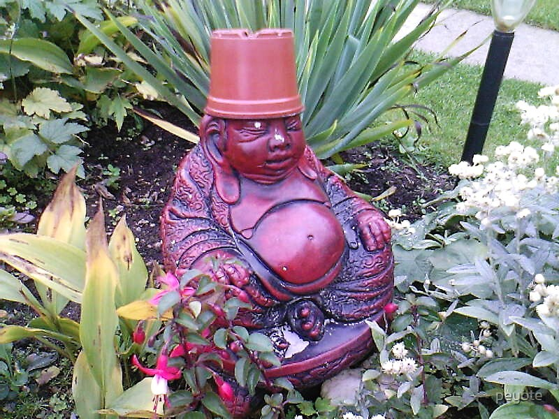 Flowerpot Man! by peyote